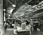 Kentworth Truck plant production line, circa 1940s-1950s