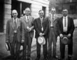 Officers of International Association of Machinists Lodge 1, 1928