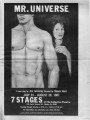 "Jim Grimsley's ""Mr. Universe,"" program of the production at 7 Stages Theatre, Atlanta,..."