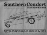 """Southern Comfort,"" by Nicholas Kazan, program of the performance at 7 Stages Theatre,..."