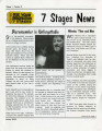 Use Your Imagination: 7 Stages News (Atlanta, Georgia, January 2000).  8 pages.