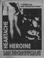 """Heartache Heroine,"" by Celeste Miller, program for the performance at 7 Stages Theatre,..."