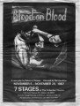 "Rebecca Ranson's ""Blood on Blood,"" program of the production at 7 Stages Theatre,..."