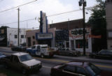 Euclid Avenue, looking south towards the 7 Stages Theatre and Criminal Records, Little Five...
