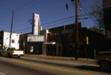 7 Stages Theatre and Criminal Records on south side of Euclid Avenue, Little Five Points, Atlanta,...
