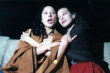 "Jenn Suchanec as Manke and Andrea Studley as Rivkele, in ""God of Vengeance"" by Sholem..."