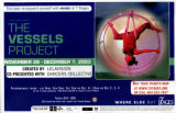"""The Vessels Project,"" created by Lelavision, poster advertising the performance at 7..."