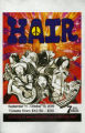 """Hair,"" music by Galt MacDermont, poster advertising the performance at 7 Stages..."