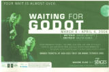 """Waiting of Godot,"" by Samuel Beckett, directed by Walter Asmus, poster for the..."