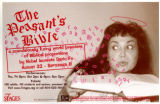 "Dario Fo's ""The Peasant's Bible,"" poster advertising the performances at 7 Stages..."