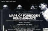 "Dah Theatar and 7 Stages Theatre's production of ""Maps of Forbidden Remembrance,"" poster..."