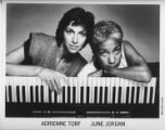 "Adrienne Torf and June Jordan, creators of ""Bang Bang über Alles,"" performed at 7 Stages..."