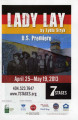 """Lady Lay,"" by Lydia Stryk, program for performances at 7 Stages Theatre, Atlanta,..."