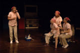 Dena Malon and Mary Claire Dunn, Patricia French, and Denise Arribas in the 7 Stages Theatre's...