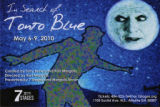 """In Search of Tonto Blue,"" created by Tony Brown and Kari Margolis, postcard announcing..."