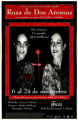 """Rosa de dos aromas,"" by Emilio Carballido, poster advertising the production in Spanish..."