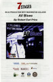 "Robert Earl Price's ""All Blues,"" program for the performance at 7 Stages Theatre,..."