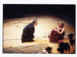 "Del Hamilton and Janice Akers in Bernard-Marie Koltes' ""Black Battles with Dogs,"" 7..."