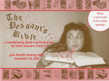 "Dario Fo's ""The Peasant's Bible,"" invitation to the gala benefit opening night, 7 Stages..."