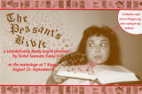 "Dario Fo's ""The Peasant's Bible,"" postcard announcing the performances at 7 Stages..."