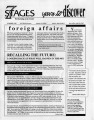 """7 Stages... Yours to Discover,"" newsletter, Atlanta, Georgia, Summer 1989. (4 pages)"