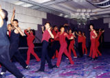 Freddie Hendricks Youth Ensemble of Atlanta performing at the second annual Leading Lady Awards, 7...