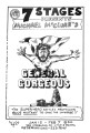 "Michael McClure's ""General Gorgeous,"" poster for the performance at 7 Stages Theatre,..."