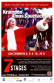 "7 Stages and Java Lords present ""Krampus Xmas Spectacular,"" poster advertising the..."