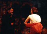 "Del Hamilton and Jessica Warren in a scene from ""Disremember Me,"" by Arben Kumbaro at 7..."