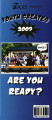 "7 Stages' Youth Creates presents ""Are You Ready?"" brochure for the summer program at 7..."