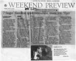 "Atlanta Journal-Constitution's weekend preview on Bobby Don Bloodworth's ""Blue Ridge..."
