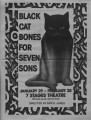 "Robert Earl Price's ""Black Cat Bones for Seven Sons,"" program of performance at 7 Stages..."