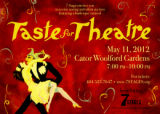 "Invitation to ""Taste for Theatre,"" a wine tasting and silent auction to benefit 7 Stages..."