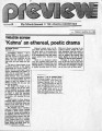 Kanna an Ethereal, Poetic Drama, by Paula Crouch. In Atlanta Journal-Constitution, March 22, 1985.