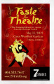 "7 Stages' ""Taste for Theatre,"" program for the wine tasting and silent and live auction..."