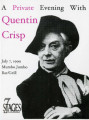 "Invitation to an exclusive event, ""A Private Evening With Quentin Crisp,"" at Mumbo Jumbo..."