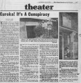 """Eureka!  It's A Conspiracy,"" by Helen C. Smith.  The Atlanta Journal and Constitution,..."