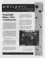 Whispers from Around the World: The Newsletter of 7 Stages Theatre, Atlanta, Georgia, Spring 1997....