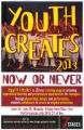 Now or Never, Youth Creates, poster advertising the performances at 7 Stages Theatre, Atlanta,...