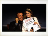 "Kevin Dobson (Left) and Bonnie Comley (Right), publicity photo for ""If It Was Easy,"" by..."