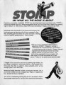 "Luke Cresswell and Steve McNicholas' ""Stomp,"" press releases and flyers promoting the..."