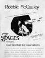"Robbie McCauley's ""My Father and the Wars,"" flyer advertising performances at 7 Stages..."