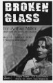 "Arthur Miller's ""Broken Glass,"" program for the performances at 7 Stages Theatre,..."
