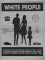 "Jim Grimsley's ""White People,"" program of the performance at 7 Stages Theatre, Atlanta,..."