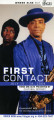 """First Contact: Three One Acts Presented by Cultural Odyssey"" postcard announcing..."