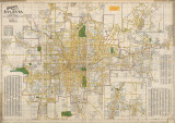 Complete Map of Atlanta, 1925