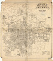 Map of the City of Atlanta and Suburbs, 1921