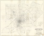 Atlanta Standard Metropolitan Statistical Area: Census Tract Map, 1960