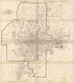 Map of the City of Atlanta Showing Corporate Limits [front], 1952