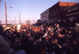 President-elect Jimmy Carter's hometown gathers the day after the election, 1976